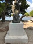 P&O Oceana - Hvar Oct 2017 - statue