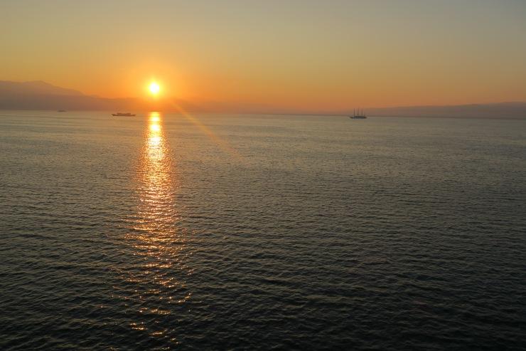 P&O Oceana - Oct 2017 Split - Sunrise