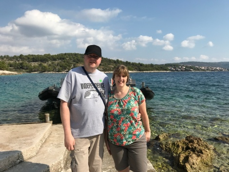 P&O Oceana - Oct 2017 Split - Jason and Joanne view