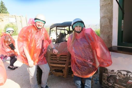 P&O Oceana - Sept 2017 Dubrovnik - jeep Jason and Joanne