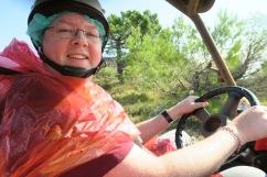 P&O Oceana - Sept 2017 Dubrovnik - Jason and inside jeep