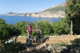 P&O Oceana - Dubrovnik Sept 2017 - Jason and Joanne Segway