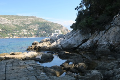 P&O Oceana - Dubrovnik Sept 2017 - view