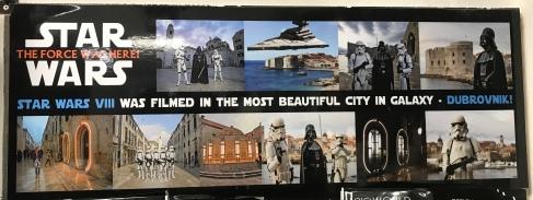 P&O Oceana - Sept 2017 Dubrovnik - Star Wars