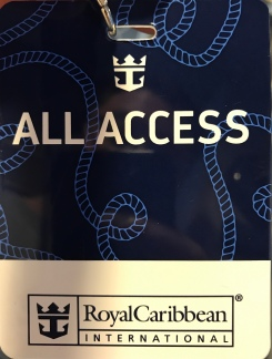 Symphony of the Seas - at sea April 2018 - all access tour
