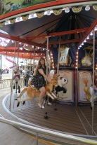Symphony of the Seas - on board April 2018 - Carousel kangeroo