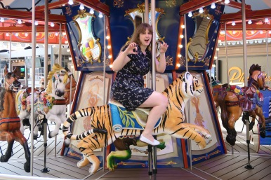 Symphony of the Seas - on board April 2018 - Carousel tiger