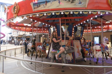 Symphony of the Seas - on board April 2018 - Carousel elephant