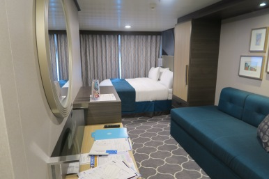 Symphony of the Seas - on board April 2018 - our cabin