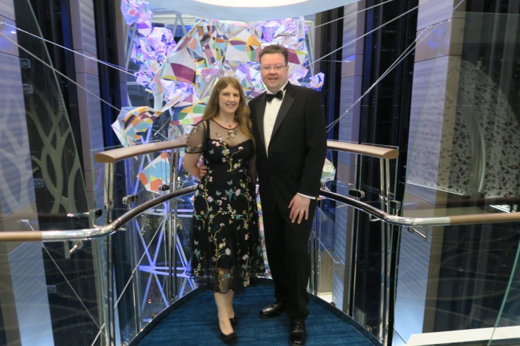 Symphony of the Seas - April 2018 - Joanne and Jason formal night