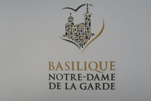 Symphony of the Seas - Provence April 2018 - Notre Dame sign