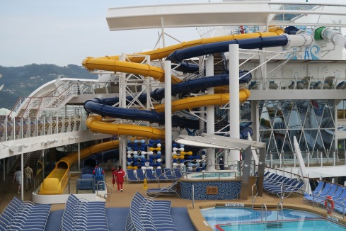 Symphony of the Seas - on board April 2018 - slides