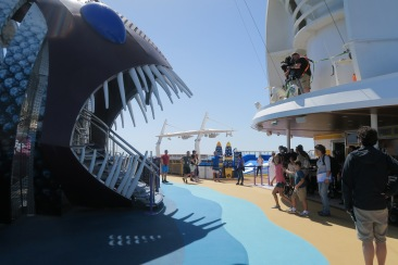 Symphony of the Seas filming