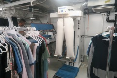 Symphony of the Seas - at sea April 2018 - all access tour laundry