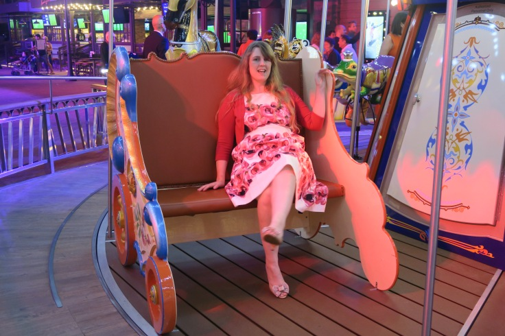 Symphony of the Seas - on board April 2018 - Carousel chair