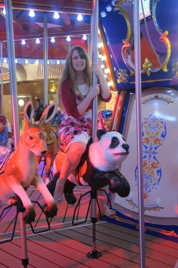 Symphony of the Seas - on board April 2018 - Carousel panda