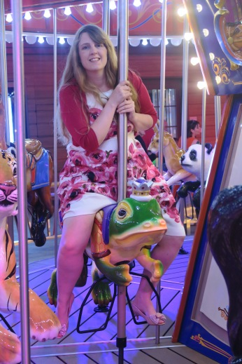 Symphony of the Seas - on board April 2018 - Carousel frog
