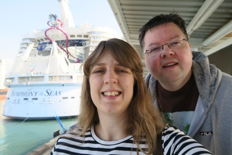 Symphony of the Seas - at sea April 2018 - Joanne and Jason