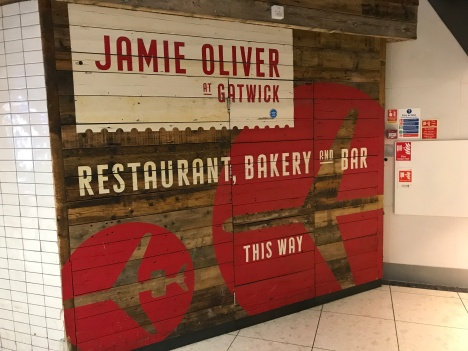 April 2018 - London Gatwick - Jamies Italian