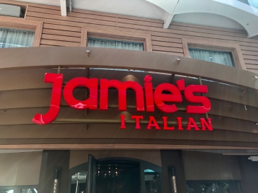 Symphony of the Seas - on board April 2018 - Jamies Italian
