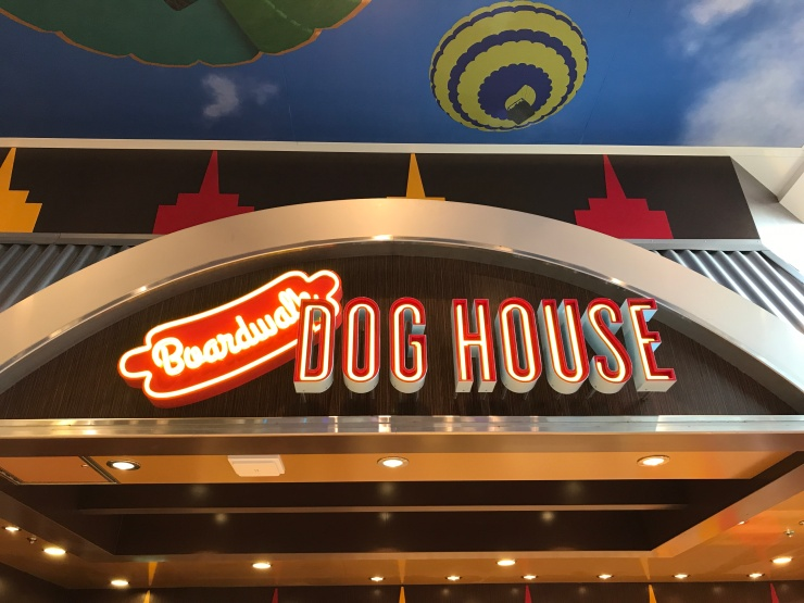 Symphony of the Seas - on board April 2018 - Dog House