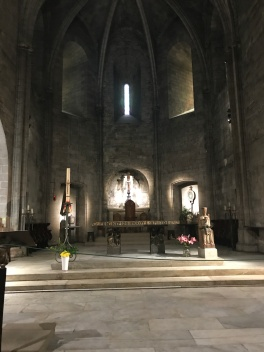 Symphony of the Seas - Provence April 2018 - Segway tour inside church