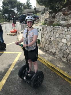 Symphony of the Seas - Provence April 2018 - Segway tour Joanne