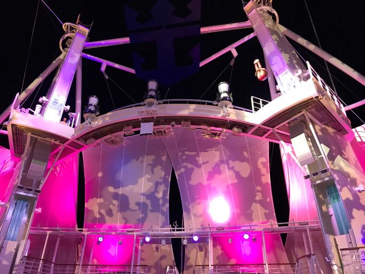 Symphony of the Seas - April 2018 - Aqua Nation