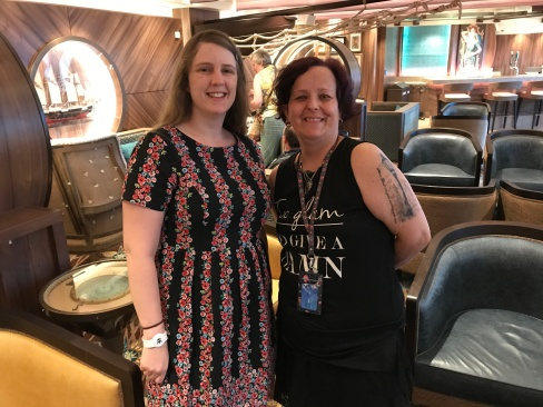 Symphony of the Seas - Florence/Pisa April 2018 - Joanne and Clare
