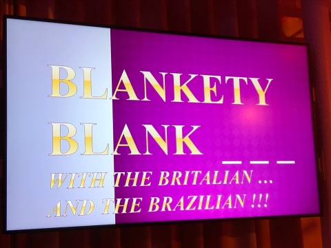 Symphony of the Seas - Civitacchia - Blankety Blank