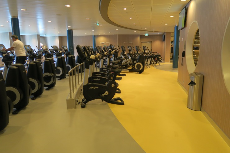 Symphony of the Seas - Vitality Spa - Gym