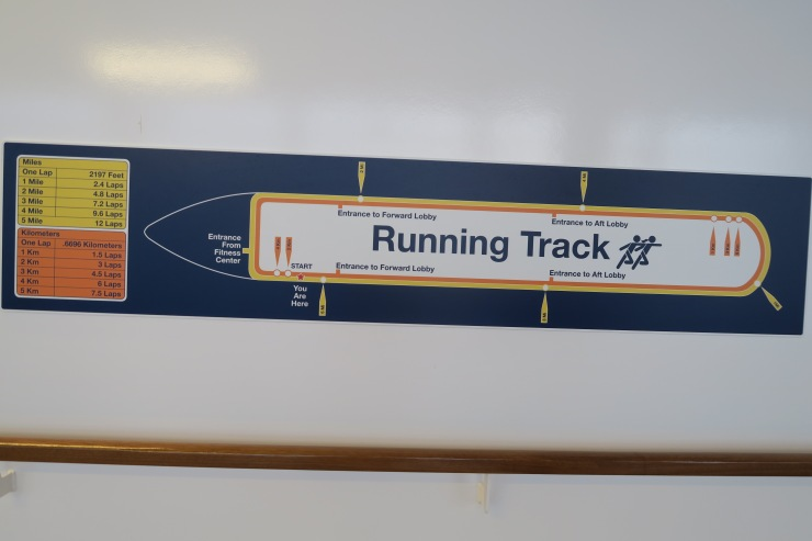 Symphony of the Seas - Running Track