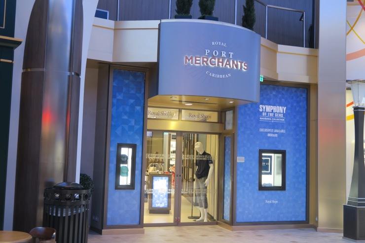 Symphony of the Seas - Royal Promenade - Port Merchants shop