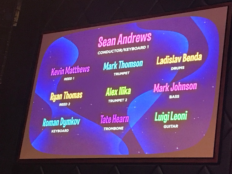 Symphony of the Seas Theatre - Hairspray credits