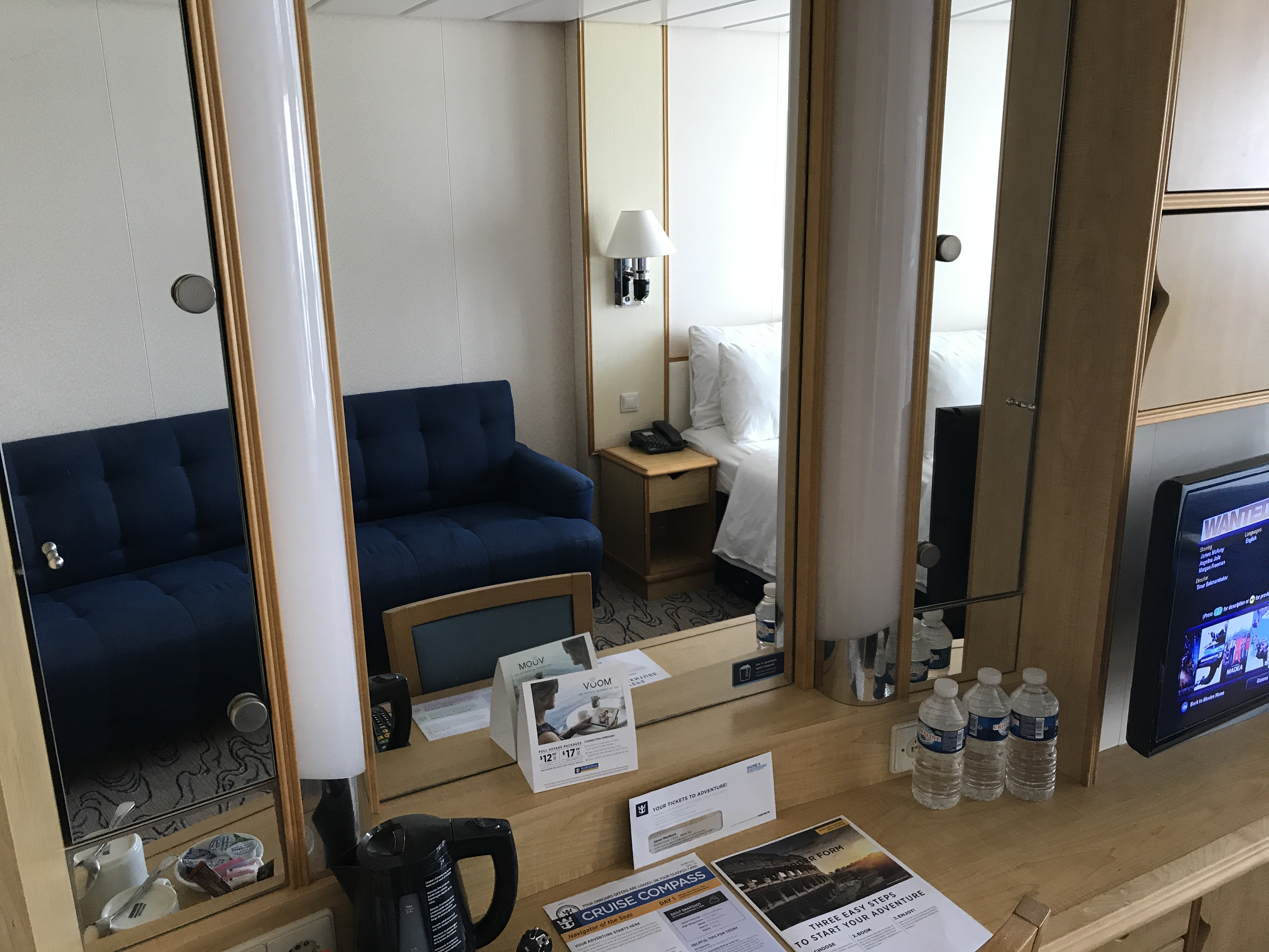 Navigator of the Seas September 2018 room