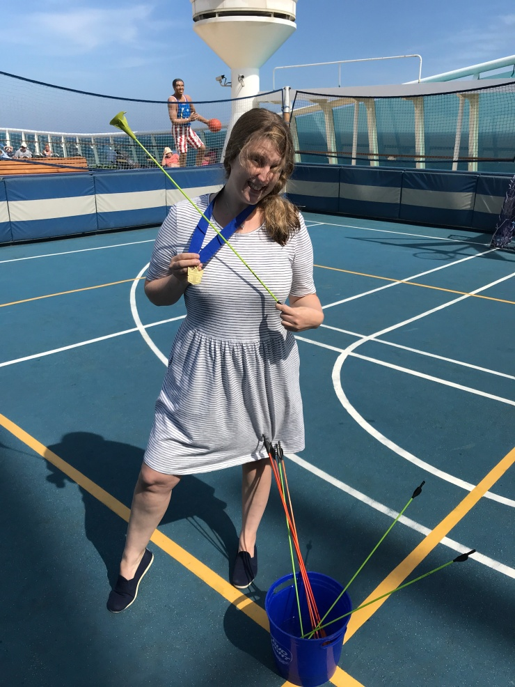 Navigator of the Seas September 2018 archery