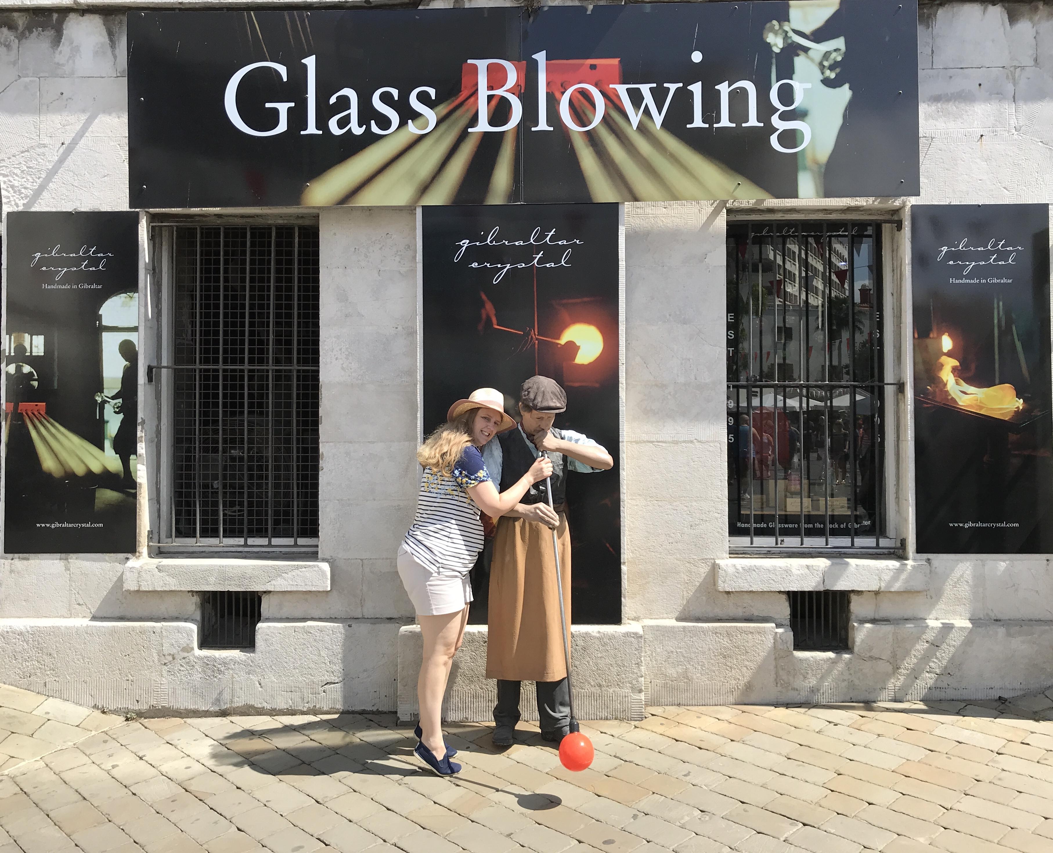 Navigator of the Seas September 2018 Glass blower