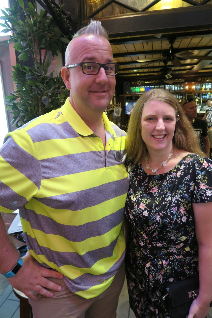 Navigator of the Seas September 2018 me and Caddy