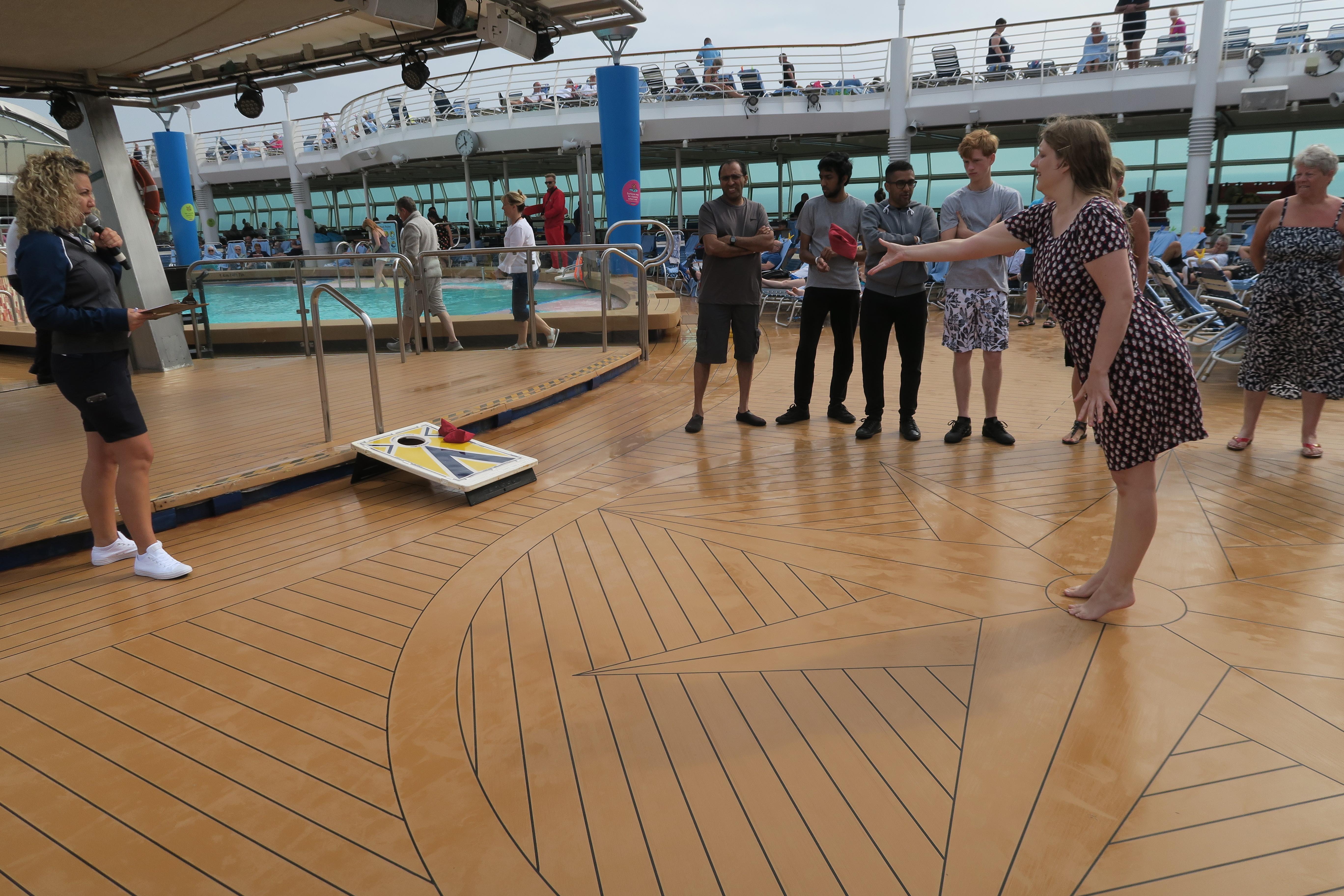 Navigator of the Seas September 2018 bean bag